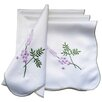 Xia Home Fashions Lavender Embroidered Napkin (Set of 4)