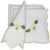 Xia Home Fashions Lily Embroidered Napkin (Set of 4)