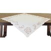 Xia Home Fashions Woodland Embroidered Cutwork Table Topper