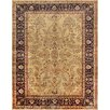 Pasargad Sarouk Hand-Knotted Ivory Area Rug