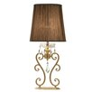 """Allegri by Kalco Lighting Portable 25.2"""" H Table Lamp with Empire Shade"""