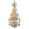 Allegri by Kalco Lighting Mendelsshon 20 Light Crystal Chandelier