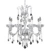 Allegri by Kalco Lighting Clovio 8 Light Crystal Chandelier
