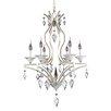 Allegri by Kalco Lighting Florence 6 Light Crystal Chandelier