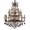 Allegri by Kalco Lighting Mendelsshon 24 Light Crystal Chandelier