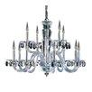 Allegri by Kalco Lighting Fanshawe 12 Light Crystal Chandelier