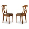 East West Furniture Napoleon Side Chair (Set of 2)