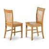East West Furniture Norfolk Side Chair (Set of 2)
