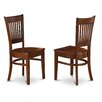 East West Furniture Vancouver Dining Chair (Set of 2)