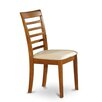 Wooden Importers Picasso Side Chair with Cushioned Seat (Set of 2)