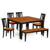 Wooden Importers Parfait 6 Piece Dining Set