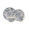 222 Fifth Hawthorne Blue 16 Piece Dinnerware Set