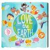 """Oliver Gal """"Love the Earth Kids"""" by Olivia's Easel Canvas Art"""