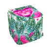 Oliver Gal Oliver Gal Home Jungle Heart Cube Ottoman
