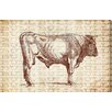 """Oliver Gal """"Bull"""" by Canyon Gallery Graphic Art on Wrapped Canvas"""