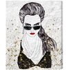 """Oliver Gal """"Work it Girl"""" by Runway Avenue Painting Print on Wrapped Canvas"""