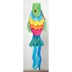 Evergreen Flag & Garden Rainbow Fish Wind Sock
