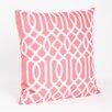 Saro Colette Embroidered Design Throw Pillow