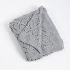 Saro Knitted Design Throw