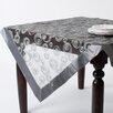 Saro Embroidered Design Tablecloth