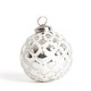 Joyeaux Noel Glass Cutout Ornament (Set of 4)