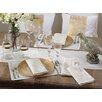 Saro Linette Hemstitched Design Napkin (Set of 12)