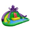 JumpOrange Monster Octopus Water Park Wet/Dry Combo Bounce House