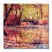 "Trademark Fine Art ""Monets Garden"" by Beata Czyzowska Young Photographic Print on Wrapped Canvas"