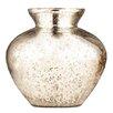 Entrada Silver Half Crackled Vase