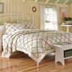 Laura Ashley Home Ruffled Garden Cotton Quilt