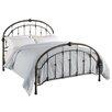 Dorel Living Queen Metal Panel Bed