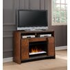 Legends Furniture Crossgrain TV Stand Electric Fireplace