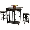 Monarch Specialties Inc Bar With Wine Storage Amp Reviews