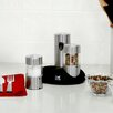 Kalorik Rechargeable 3 Piece Stainless Steel Salt & Pepper Grinder Set