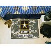 FANMATS United State Armed Forces Starter Doormat
