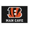FANMATS NFL Cincinnati Bengals Man Cave Starter Area Rug