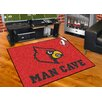 FANMATS Collegiate University of Louisville Man Cave All-Star Area Rug