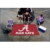 FANMATS Collegiate University of Alabama Man Cave Doormat