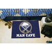 FANMATS NHL Blue Area Rug