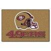 FANMATS NFL San Francisco 49ers Starter Doormat