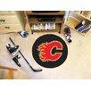FANMATS NHL Calgary Flames Hockey Puck Doormat