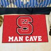 FANMATS Collegiate North Carolina State Man Cave Starter Area Rug