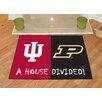 FANMATS NCAA Indiana House Divided Mat