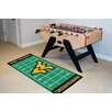 FANMATS NCAA West Virginia Novelty Footrun Rug