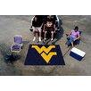 FANMATS Collegiate West Virginia Tailgater Outdoor Area Rug