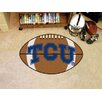 FANMATS NCAA TCU Football Doormat