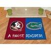 FANMATS NCAA Florida State Seminoles House Divided Mat