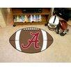 FANMATS NCAA Alabama Crimson A Logo Football Doormat