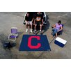 """FANMATS MLB Cleveland Indians """"Block-C"""" Tailgater Outdoor Area Rug"""