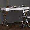 Whiteline Imports Elm Writing Desk with Drawers